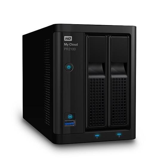 Serveur NAS Western Digital (WD) NAS My Cloud Pro PR2100 - 4 To - Autre vue