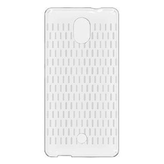 Coque et housse Wiko Coque Wicube (transparente) - Wiko Tommy 4G