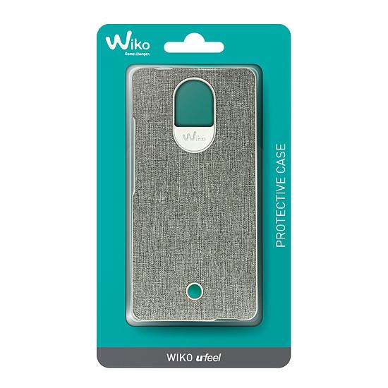 Coque et housse Wiko Coque wiboard (gris) - Wiko Ufeel - Autre vue