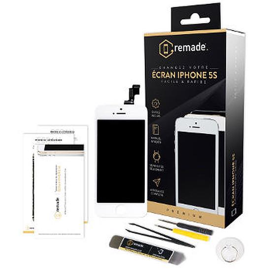 Autres accessoires Remade Kit de réparation écran (blanc) - iPhone 5s