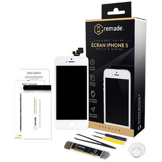 Autres accessoires Remade Kit de réparation écran (blanc) - iPhone 5