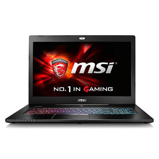 PC portable MSI GS72 6QE-408FR - i7 - 16 Go - SSD - GTX 970M - IPS