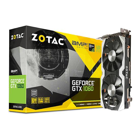 Carte graphique Zotac GeForce GTX 1060 AMP! Edition - 6 Go