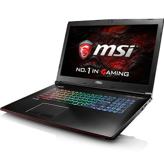 PC portable MSI GE72VR 6RF-018FR - i7 - 16 Go - SSD - GTX 1060