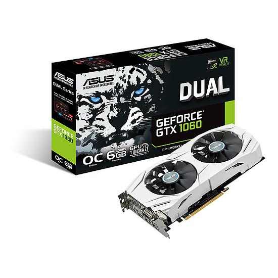 Carte graphique Asus GeForce GTX 1060 Dual OC - 6 Go