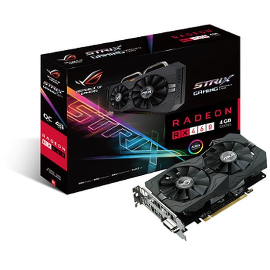 Carte graphique Asus Radeon RX 460 STRIX OC - 4 Go