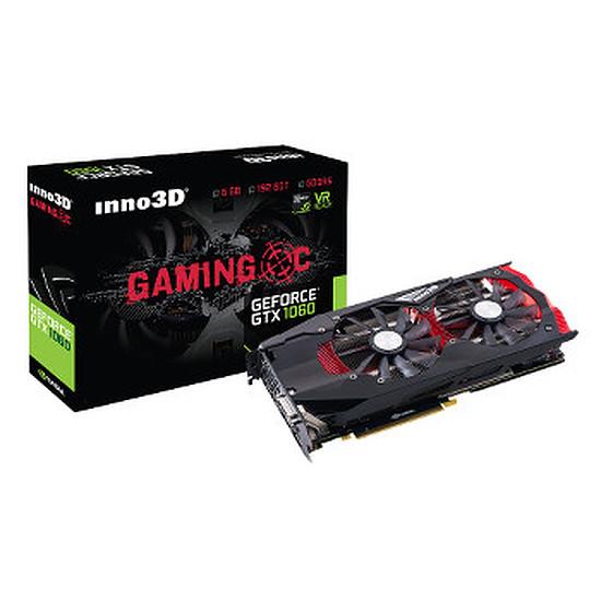 Carte graphique Inno3D GeForce GTX 1060 Gaming OC - 6 Go