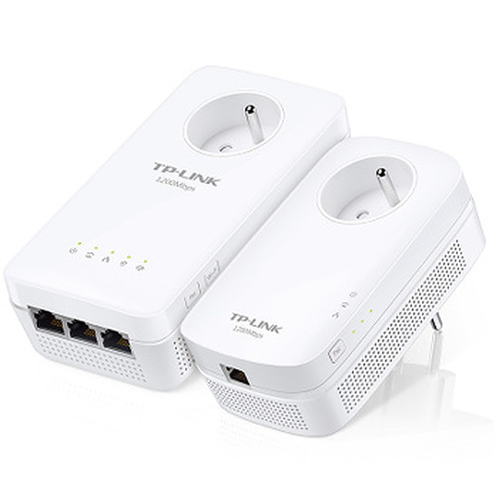 CPL TP-Link TL-WPA8635P KIT - Pack 2 CPL1300/WiFi AC1200