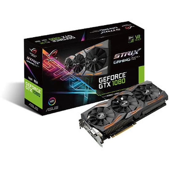 Carte graphique Asus GeForce GTX 1080 STRIX A8G - 8 Go