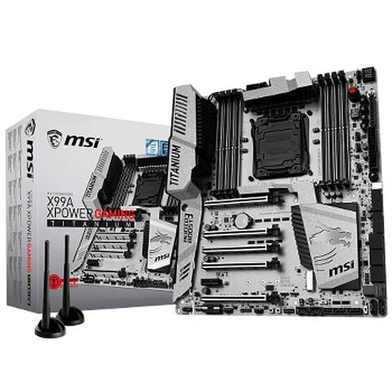 Carte mère MSI X99A XPOWER GAMING TITANIUM