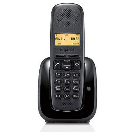 Téléphone fixe sans fil Gigaset A150 (noir)