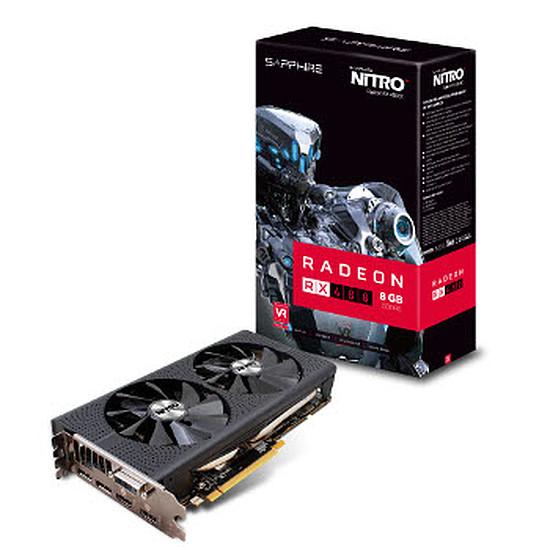 Carte graphique Sapphire Radeon RX 480 Nitro+ OC - 8 Go