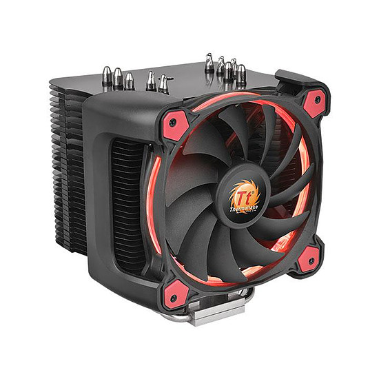 Refroidissement processeur Thermaltake Riing Silent 12 Pro - Rouge