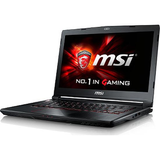 PC portable MSI GS43VR 6RE-037FR - i7 - 16 Go - SSD - GTX 1060