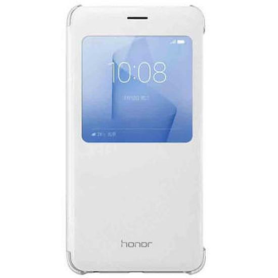 Coque et housse Honor Etui flip cover (blanc) - Honor 8
