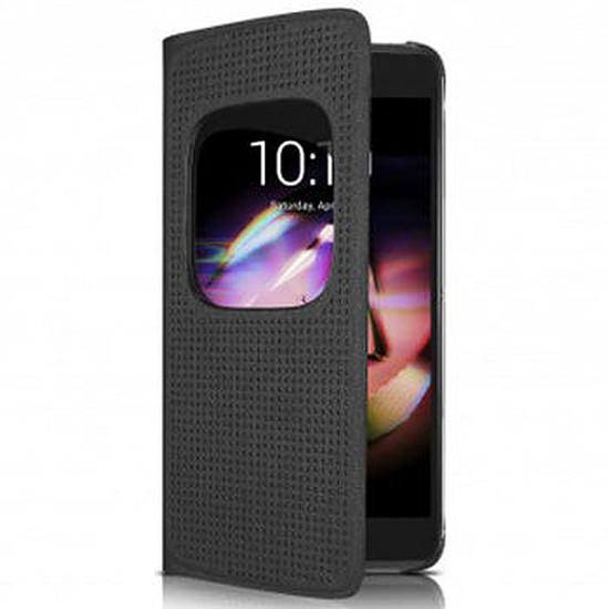 Coque et housse Alcatel Mobile Etui Matrix Flipcase (noir) - Alcatel Idol 4