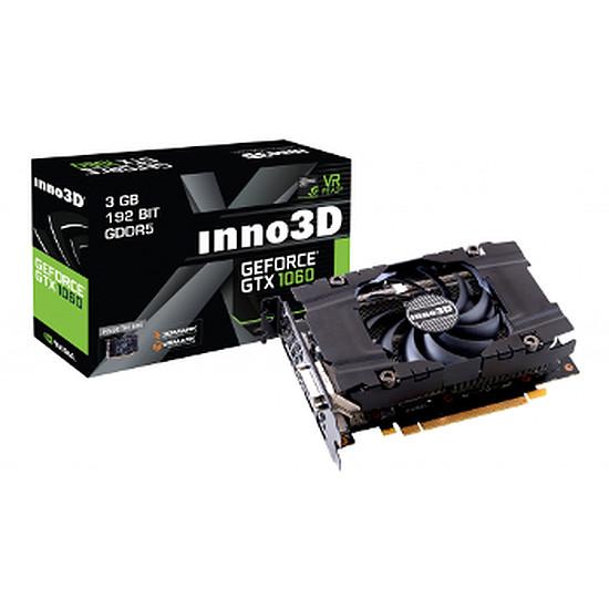 Carte graphique Inno3D GeForce GTX 1060 Compact X1 - 3 Go