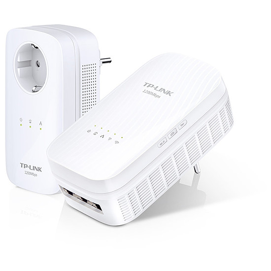 CPL TP-Link TL-WPA8730 KIT - Pack 2 CPL1200/WiFi AC1200
