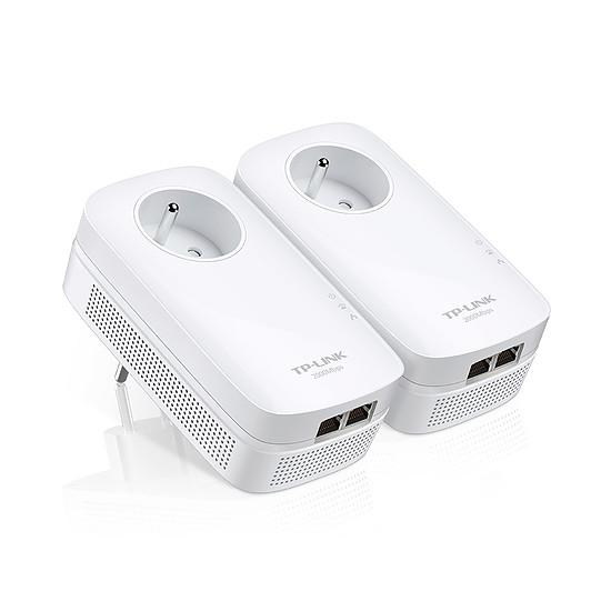 CPL TP-Link TL-PA9025P KIT - Pack 2 CPL2000 2 ports Ethernet - Autre vue