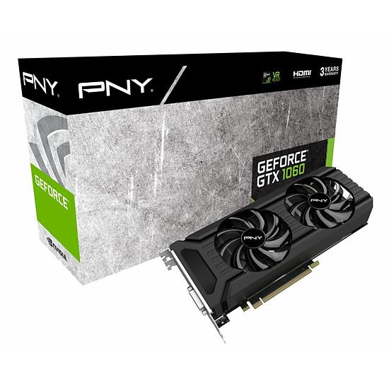 Carte graphique PNY GeForce GTX 1060 - 6 Go