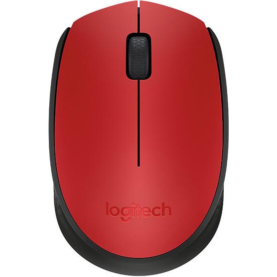 Souris PC Logitech M171 - Rouge