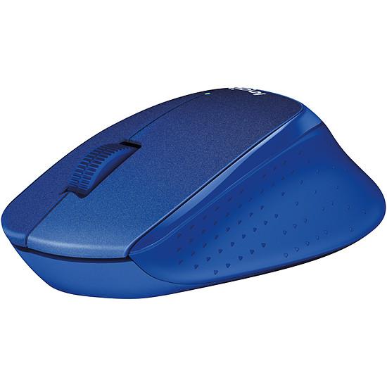 Souris PC Logitech M330 Silent Plus - Bleu - Autre vue