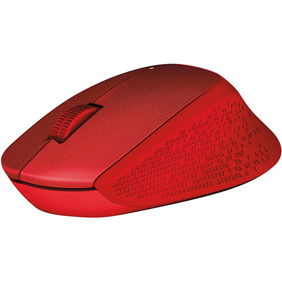 Souris PC Logitech M330 Silent Plus - Rouge - Autre vue