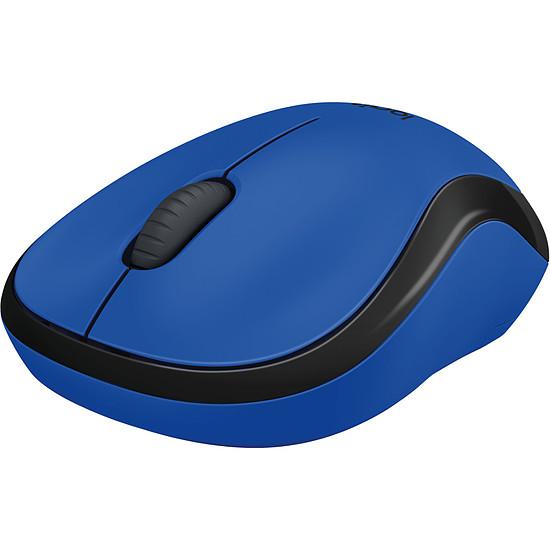 Souris PC Logitech M220 Silent - Bleu - Autre vue