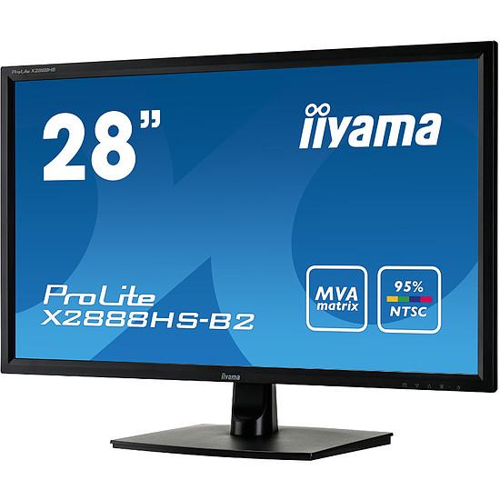 Écran PC Iiyama ProLite X2888HS-B2 - Autre vue