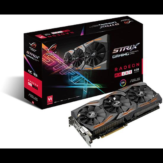 Carte graphique Asus Radeon RX 480 STRIX Gaming - 8 Go