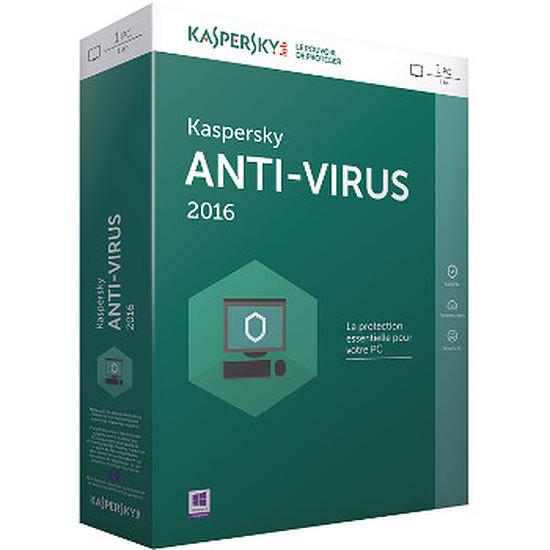 Antivirus et sécurité Kaspersky Lab Antivirus 2017 - 3 postes - 1 an