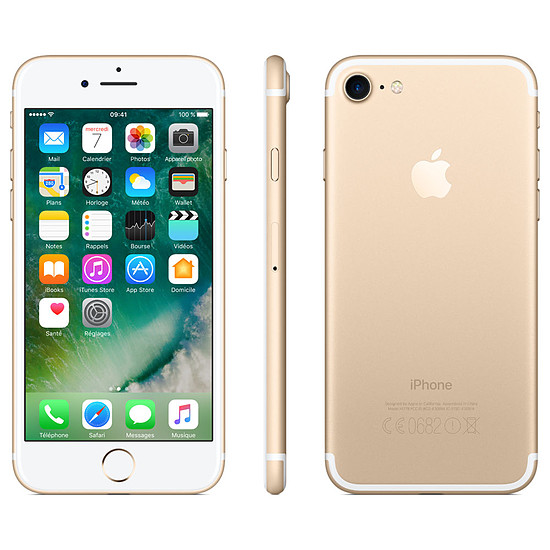 Smartphone et téléphone mobile Apple iPhone 7 (or) - 128 Go - Autre vue