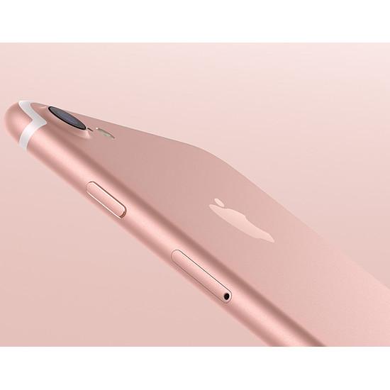 Smartphone et téléphone mobile Apple iPhone 7 (or rose) - 128 Go - Autre vue
