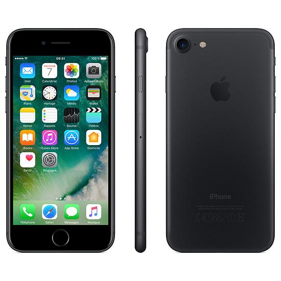 Smartphone et téléphone mobile Apple iPhone 7 (noir) - 256 Go - Autre vue