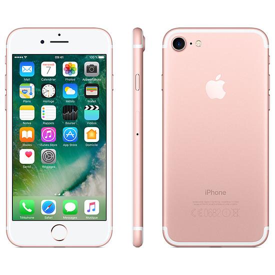 Smartphone et téléphone mobile Apple iPhone 7 (or rose) - 256 Go - Autre vue