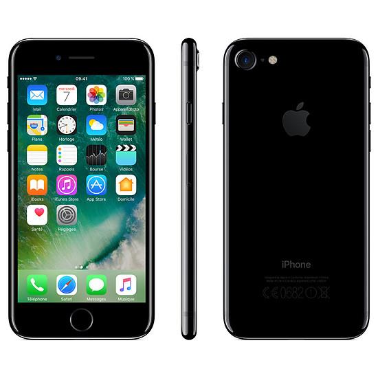 Smartphone et téléphone mobile Apple iPhone 7 (noir de jais) - 256 Go - Autre vue