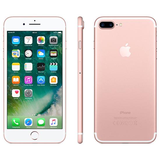 Smartphone et téléphone mobile Apple iPhone 7 Plus (or rose) - 128 Go - Autre vue
