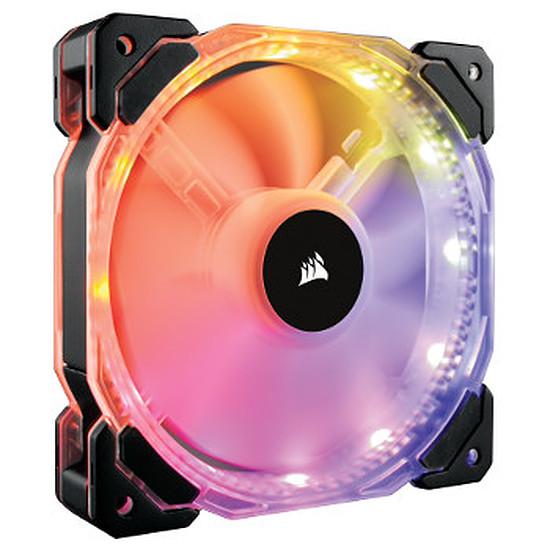 Ventilateur Boîtier Corsair HD120 RGB LED High Performance PWM + Contrôleur