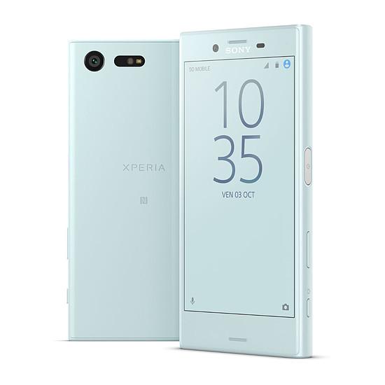 Smartphone et téléphone mobile Sony Xperia X compact (bleu)