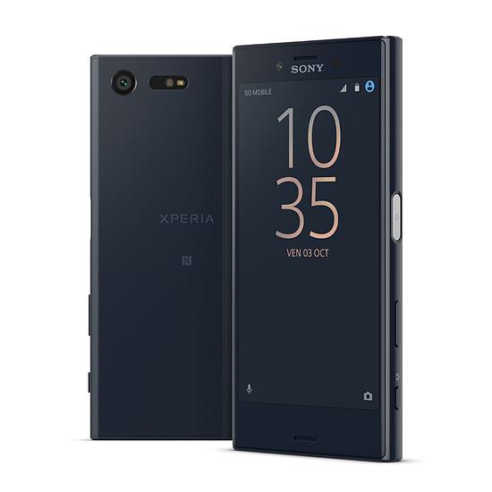 Smartphone et téléphone mobile Sony Xperia X compact (noir)