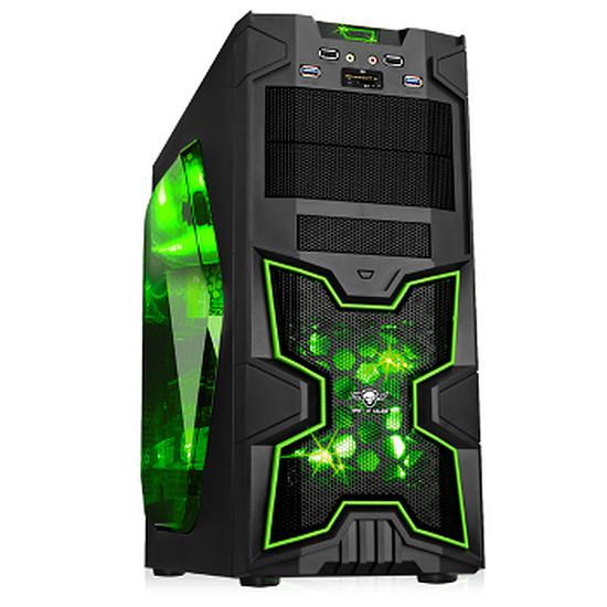 Boîtier PC Spirit Of Gamer X-FIGHTERS 41 Green Army