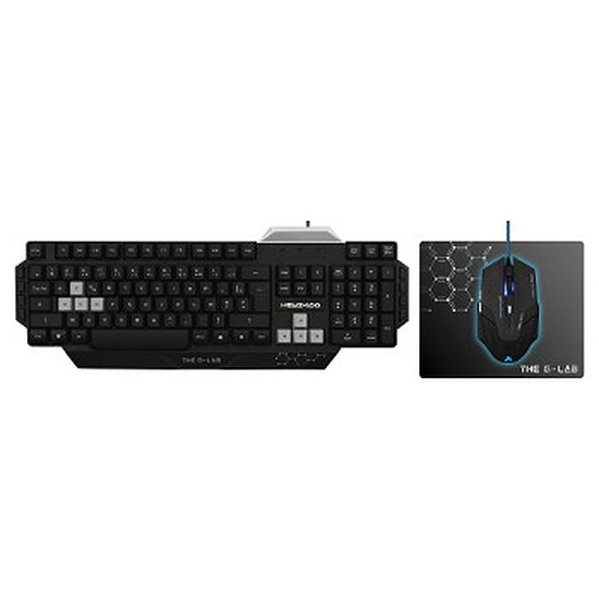 Pack clavier-souris Gaming The G-Lab COMBO#100