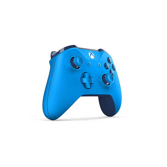 Manette de jeu Microsoft Xbox One - Bleu - Autre vue
