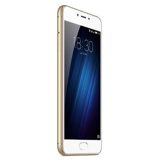 Smartphone et téléphone mobile Meizu M3S 16 Go (or)