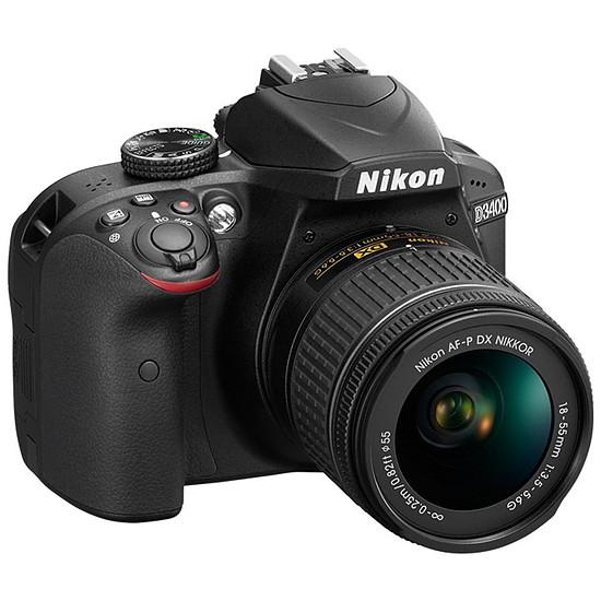 Appareil photo Reflex Nikon D3400 + AF-P DX 18-55 VR
