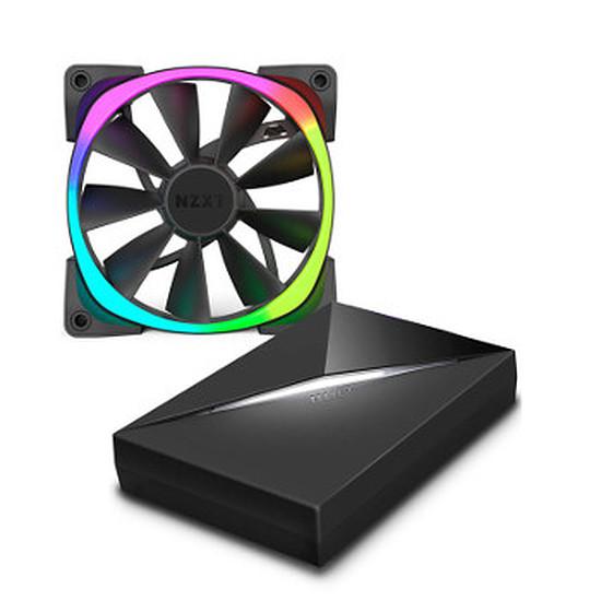 Ventilateur Boîtier NZXT Aer RGB 120 mm et NZXT HUE+