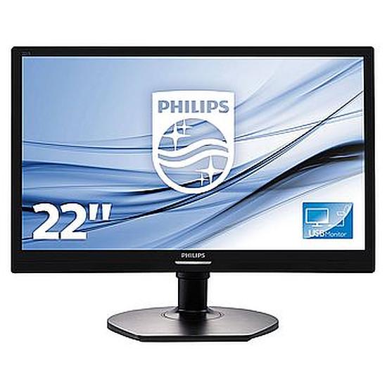 Écran PC Philips 221S6QUMB USB