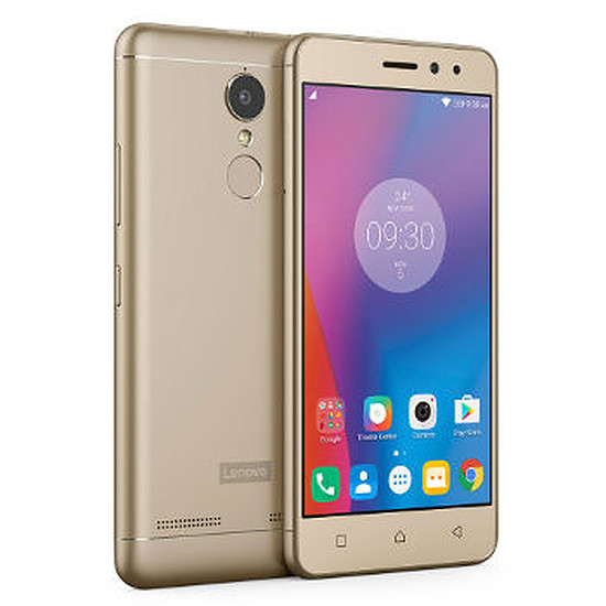 Smartphone et téléphone mobile Lenovo K6 (or)