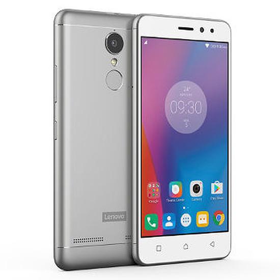 Smartphone et téléphone mobile Lenovo K6 (argent)
