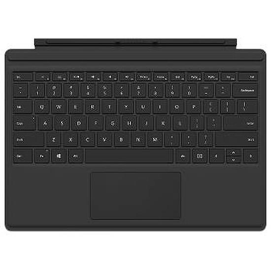Accessoires tablette tactile Microsoft Clavier Type Cover pour Surface Pro 4 - noir